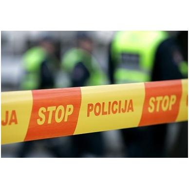 """Apsauginė juosta """"STOP POLICIJA"""""""