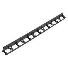 Bortelis 1mx4.5cm RimBord 4v lai k.juoda/žal.BrdOBRB/GR45