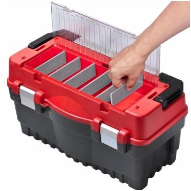 Dėžė įrankiams S500 formula Carbo  alium.rank.50364 raud. 2