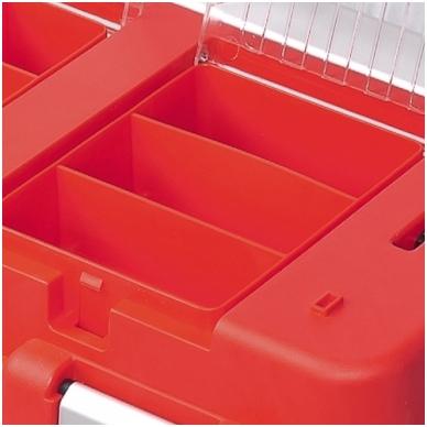 Dėžė įrankiams S500 formula Carbo  alium.rank.50364 raud. 5