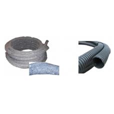 Drenažo vamzdis PE D100/86 su geotekstilės medžiaga