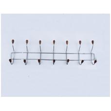 Kabykla metalinė 7 dalių mediniai antgaliai