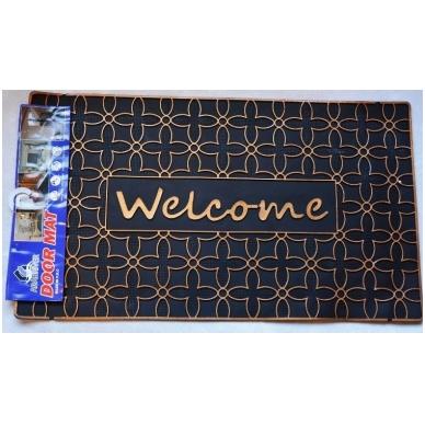 Kilimėlis 40x70cm guminis Welcome