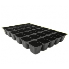 Padėklas – daigykla plast. 30 vietų kvadr.