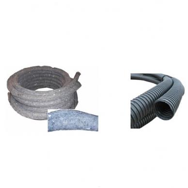Drenažo vamzdis PE D63/50 su geotekstilės medžiaga