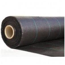 Plėv.agrotekstilė1.6m*100 juod  P-70  AGO4431 CH