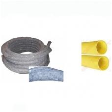 PVC drenažo vamzdis su geotekstile D160