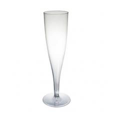 Taurė šampano plastm.vienkartinė