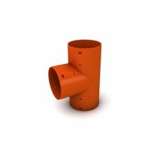 Trišakis drenažo vamzdžiui T90 - 100×100