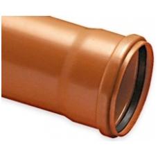 Vamzdis – kanalas su įmova PVC D 110x3.2mm 3m