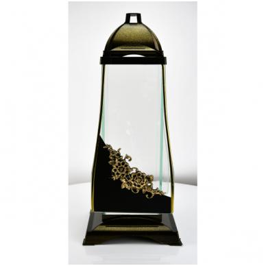 Žvakė kap.(6)Glass Art.1 stikl.  40cm    val.Sukienka nakl.